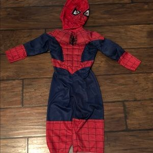 Spider-Man toddlers costume outfit mask